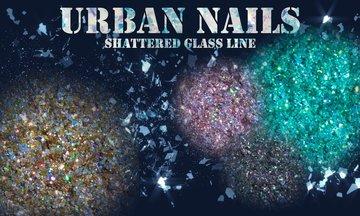 Shattered glas line