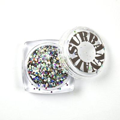 Kassa Koopje Zilver Glitters Grof