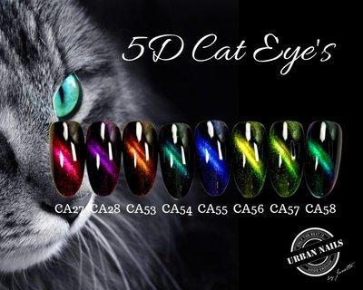 5D Nieuwe Cat eye's set van 8 stuks