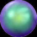 Swarovski Scarab Green Pearl