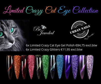 Limited Crazy Cat Eye GELPOLISH Collection + Crazy CAT EYE Glitter Collection