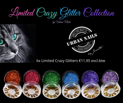 Limited Crazy CAT EYE Glitter Collection