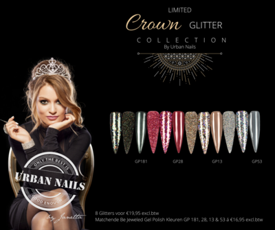 Limited Crown Glitter Collection