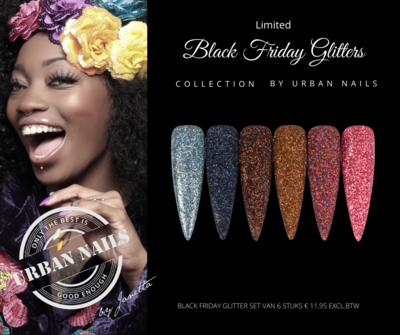 Black Friday Glitter Collection by Urban Nails