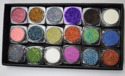 Glitter Deal Box Diamond Line & Glitter Dust (SET1)