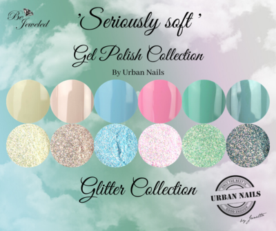 'Seriously Soft' Gel Polish & Glitter Collection