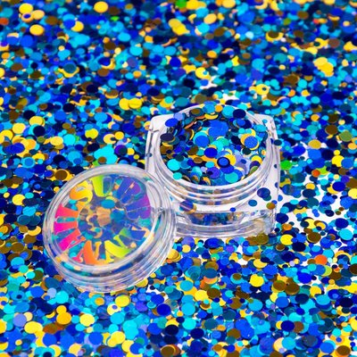 Roly Poly 29 (goud,blauw,donkerblauw)
