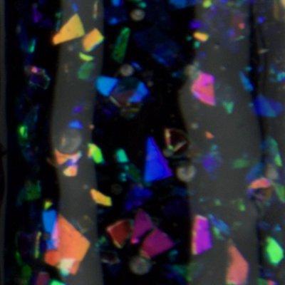 Diamond Glass 05 witte tint met (roze,groen,oranje,blauw)