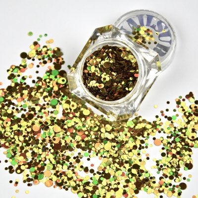 Roly Poly Holo Gold