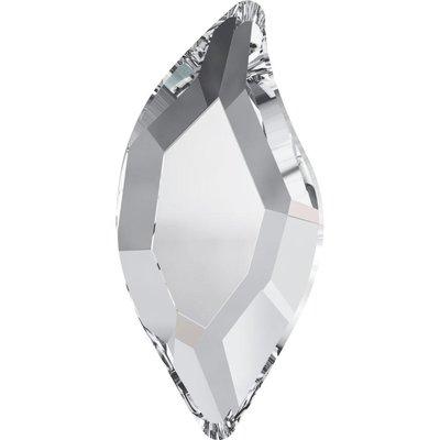 Swarovski Diamond Leaf Crystal 8x4mm