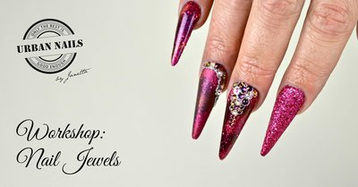Workshop Nail Jewels by Rob 6 Juli