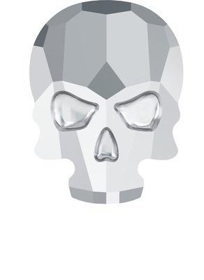 Swarovski Skull Light Chrome ( 2 stuks )