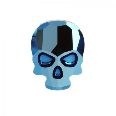 Swarovski Skull Metallic Blue( 2 stuks )