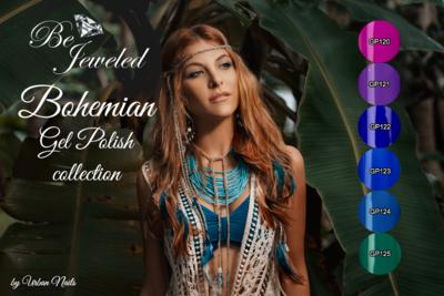 Poster: Bohemian Gel Polish collectie