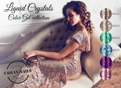 Poster: Liquid Crystals Color Gel collectie