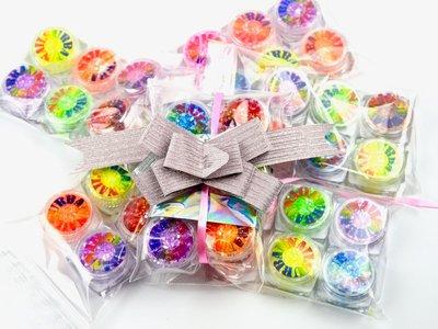 MEEPAKKER!! Random Glitter Line 6 Stuks