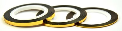 Striping Tape Gold 2mm