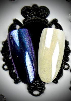 Parelmoer Pigment Blauw