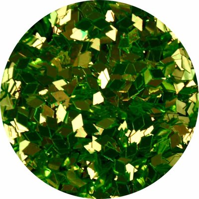 Diamond Shape Groen (klein)