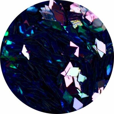 Diamond Shape Blauw/Paars (groot)