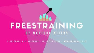 Workshop: Freestraining level 2 by Monique Wijers vrijdag 14 december 10.00-15.00