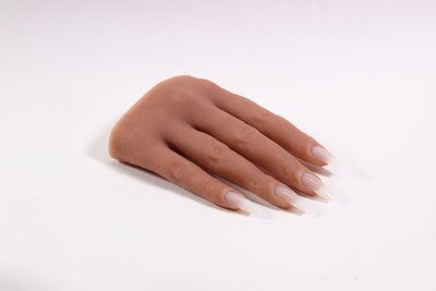 Silicone Practice Hand right (tan)