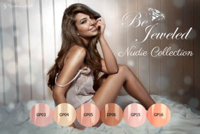 Be Jeweled Gel Polish Nudie Collection