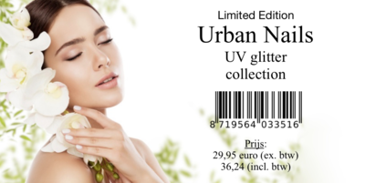 Limited Edition: UV glitter collection