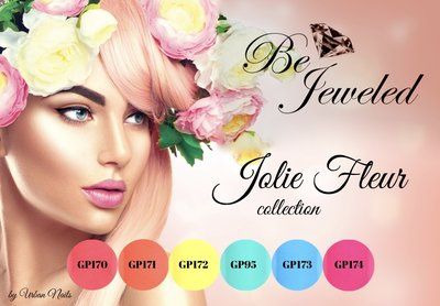 Be Jeweled Jolie Fleur gelpolish collection
