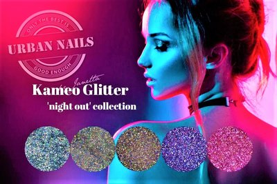 Urban Nails Kameo Glitter ´night out´ collection