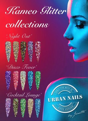 Urban Nails Kameo Glitter Collection set van alle 3