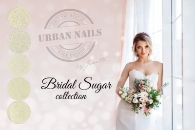 'Bridal Sugar' glitter collection