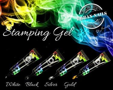 Stamping Gel Set van 4 stuks