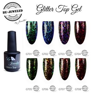 Glitter Top Gel 01 - 08