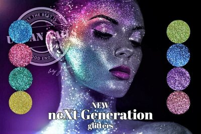 Urban Nails New NeXt Generation glitters Collection