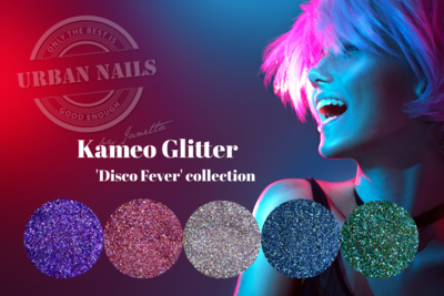 Urban Nails Kameo Glitter ´disco fever´ Collection