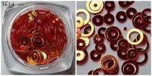 Inlay Line 14 hologram oranje rood