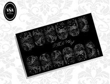 Foil silver slider: FS-004